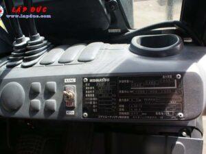 Xe nâng KOMATSU máy xăng 1.8 tấn FG18T-20 # 672555 giá rẻ