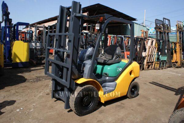 Xe nâng xăng cũ 2 tấn KOMATSU FG20-15 # 581367 giá rẻ