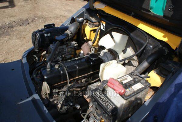 Xe nâng động cơ xăng KOMATSU FG20-15 # 581367 giá rẻ
