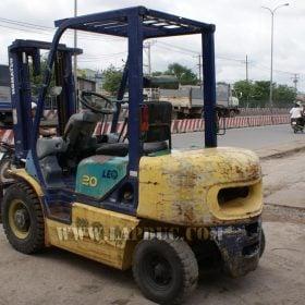 Xe nâng xăng cũ KOMATSU 2 tấn FG20C-12 giá rẻ