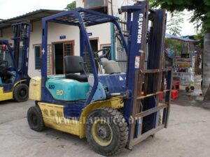 Xe nâng xăng 2 tấn KOMATSU FG20C-12 giá rẻ