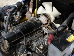 Xe nâng cũ động cơ xăng KOMATSU 2 tấn FG20C-12 giá rẻ