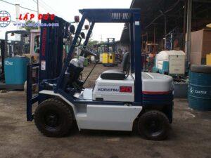 Xe nâng xăng cũ 2 tấn KOMATSU FG20C-11 # 453615 giá rẻ