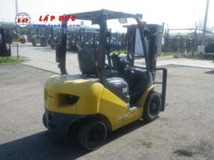 Xe nâng xăng cũ KOMATSU 2 tấn FG20C-17 # 312801 giá rẻ