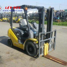 Xe nâng xăng KOMATSU 2 tấn FG20C-17 # 312801 giá rẻ