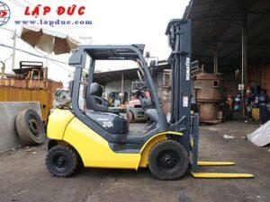 Xe nâng xăng cũ 2 tấn KOMATSU FG20T-17 giá rẻ