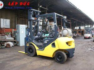 Xe nâng máy xăng KOMATSU 2 tấn FG20T-17 giá rẻ