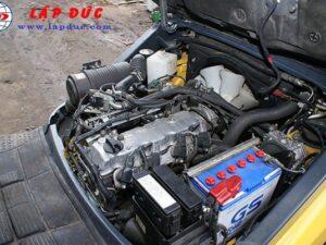 Xe nâng cũ động cơ xăng KOMATSU 2 tấn FG20T-17 giá rẻ