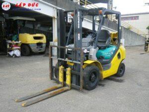 Xe nâng xăng cũ KOMATSU 2.5 tấn FG25C-16 # 731383 giá rẻ