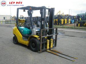 Xe nâng xăng KOMATSU 2.5 tấn FG25C-16 # 731383 giá rẻ