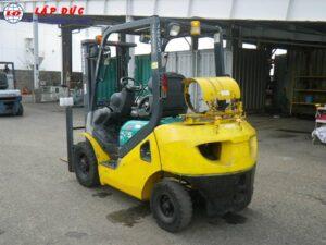Xe nâng máy xăng KOMATSU 2.5 tấn FG25C-16 # 731383 giá rẻ