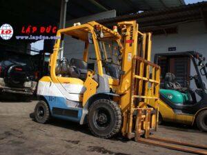 Xe nâng xăng 2.5 tấn KOMATSU FG25T-17 # 714207 giá rẻ