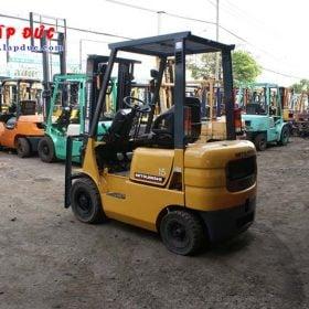 Xe nâng xăng 1.5 tấn MITSUBISHI FG15 # 54137 giá rẻ