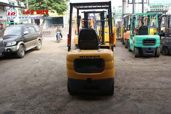 Xe nâng cũ động cơ xăng MITSUBISHI 1.5 tấn FG15 # 54137 giá rẻ