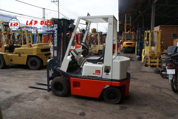 Xe nâng xăng cũ 1.5 tấn NISSAN NAH01-0509 giá rẻ