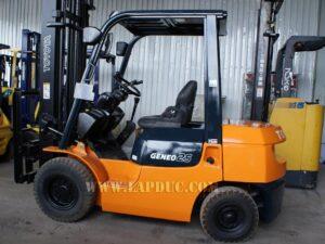 Xe nâng xăng cũ 2.5 tấn TOYOTA 7FG25 # 15905 giá rẻ