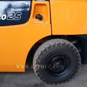 Xe nâng xăng TOYOTA 2.5 tấn 7FG25 # 15905 giá rẻv