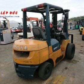 Xe nâng xăng cũ TOYOTA 2.5 tấn 7FGL25 # 12560 giá rẻ