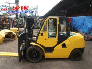 Xe nâng dầu cũ 4 tấn KOMATSU FD40T-10 -135696 giá rẻ