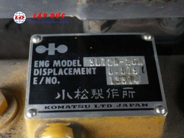 Xe cuốc KOMATSU PC05-7
