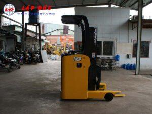 Xe nâng điện đứng lái cũ KOMATSU 1 tấn FB10RL-14 giá rẻ