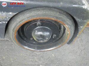 Xe nâng điện đứng lái1.3 tấn KOMATSU FB13RC-12 4