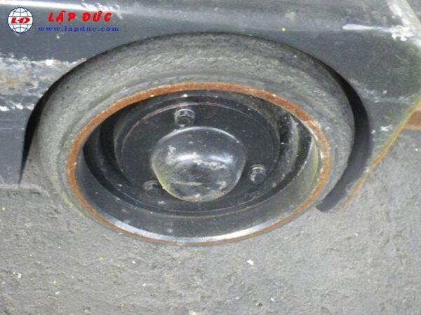 Xe nâng điện đứng lái1.3 tấn KOMATSU FB13RC-12 2