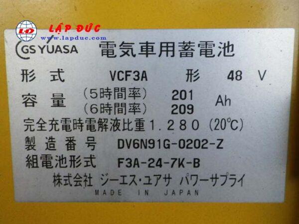 Xe nâng điện đứng lái 1.3 tấn KOMATSU FB13RL-12 1