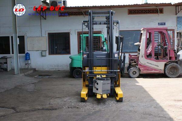 Xe nâng điện cũ KOMATSU đứng lái 1.3 tấn FB13RL-14 giá rẻ