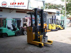 Xe nâng điện KOMATSU đứng lái 1.3 tấn FB13RL-14 giá rẻ