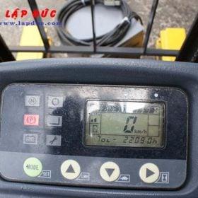Xe nâng điện đứng lái cũ 1.3 tấn KOMATSU FB13RL-14 giá rẻ