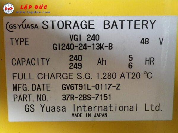 Xe nâng điện đứng lái 1.3 tấn KOMATSU FB13RS-14