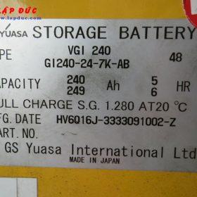 Xe nâng điện cũ KOMATSU đứng lái 1.3 tấn FB13RS-14