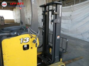 Xe nâng điện đứng lái 1.3 tấn KOMATSU FB13RW-14