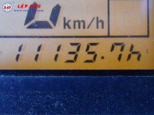 Xe nâng điện cũ KOMATSU đứng lái 1.3 tấn FB13RW-14