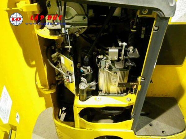 Xe nâng điện đứng lái cũ 1.4 tấn KOMATSU FB14RL-14 giá rẻ