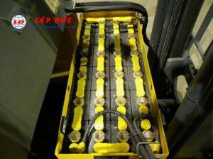 Xe nâng điện đứng lái 1.4 tấn KOMATSU FB14RL-14