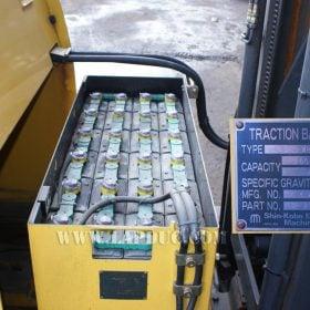 Xe nâng điện KOMATSU đứng lái 1.5 tấn FB15RLF-12