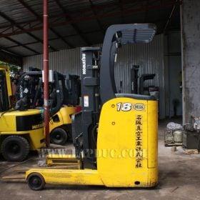 Xe nâng điện đứng lái cũ 1.8 tấn KOMATSU FB18RL-14