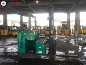 Xe nâng điện KOMATSU 2 tấn đứng lái FB20RN-4