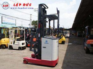 Xe nâng điện đứng lái cũ 1.3 tấn NICHIYU FBR13 giá rẻ