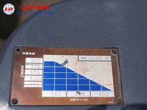 Xe nâng điện đứng lái 1.3 tấn NICHIYU FBR13