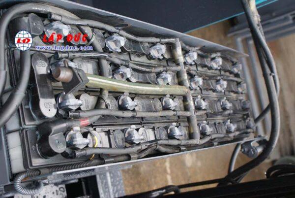 Xe nâng điện TOYOTA 1.3 tấn đứng lái 6FBR13 giá rẻ