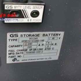 Xe nâng điện đứng lái cũ 1.3 tấn TOYOTA 6FBR13 giá rẻ