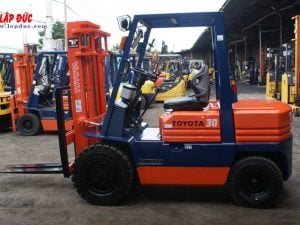 Gas Powered - LPG Forklifts