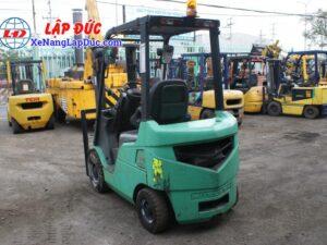 Xe nâng dầu 1.5 tấn MITSUBISHI FD15D # 51325 giá rẻ