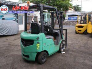 Xe nâng dầu MITSUBISHI 1.5 tấn FD15D # 51325 giá rẻ