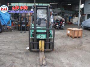 Xe nâng động cơ dầu 1.5 tấn MITSUBISHI FD15D # 51325 giá rẻ
