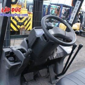 Xe nâng dầu cũ 1.5 tấn MITSUBISHI FD15D # 51325 giá rẻ