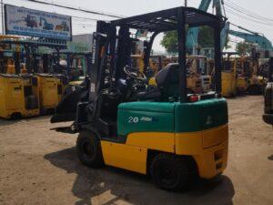 Xe nâng điện ngồi lái KOMATSU 2 tấn FB20EX-11 giá rẻ